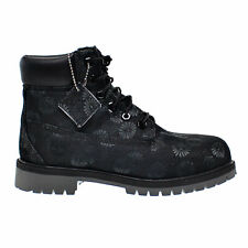 Timberland 6 Inch Classic Big Kids Boots Black Floral tb0a177s