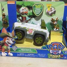 kid toy 3-5 old action figure pup tracker & super hero patrol vehicle and sound