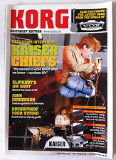 KORG Guitarist Edition; Interview Kaiser Chiefs/ Slipknot's/ Jim Root/ Soudproof