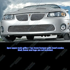 Fits 2004-2006 Pontiac GTO Billet Grille Grill Combo Insert