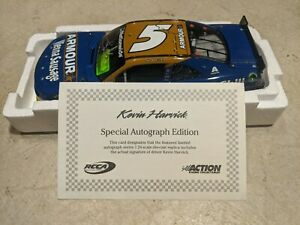 Kevin Harvick Signed 2014 Armour Foods 1:24 Nascar Diecast 1 of 444 RARE Lionel