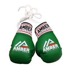 Amber Mini Boxing Gloves Black/Red/Green/