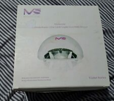 MelodySusie 12w LED Light Gel Nail Dryer - Violetili - UNIT ONLY