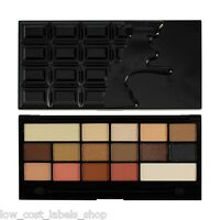 Revolution Eyeshadow Palette Shimmer and Matte  I Heart Makeup Chocolate Vice