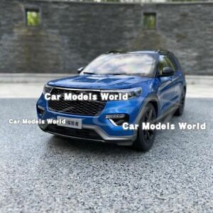 Car Model for Explorer 1:18 (Blue) + SMALL GIFT!!!