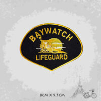 Baywatch Lifeguard Movie Patch Iron On Patch Sew On Embroidered Patch