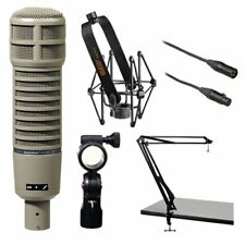Electro-Voice RE20 Microphone Kit with Shockmount, Broadcast Arm and Cable