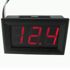 DC 0-30V 3 Wire LED Digital Display Panel Volt Meter Voltage Voltmeter Car Motor