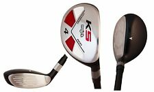 "Majek Golf Senior Lady #4 Hybrid Lady ""L"" Flex Club,  Premium Arthritic Grip"