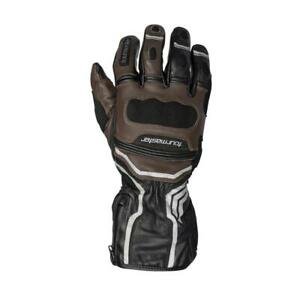 Tourmaster Super Tour Leather Motorcycle Gloves, Coffee, Brown, Extra Large, XL