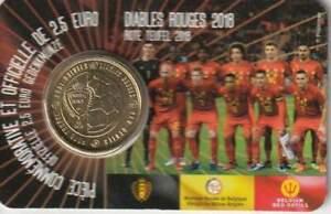 België 2018 Coincard 2 1/2 euro - Rode Duivels (frans)