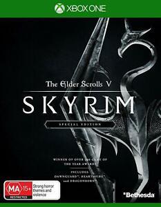 The Elder Scroll V Skyrim Special Edition Xbox One Brand New