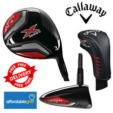 Callaway X Series Golf Fairway Wood Graphite Right Hand With Headcover