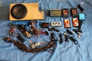 Complete Car Sound System JL Audio woofer Boston ProSeries Parrot GPS Video Nav
