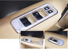 For Nissan Qashqai 2011-2013 Chrome Door Armrest Window Lift Button Cover Trim