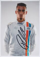 PASCAL WEHRLEIN Manor Mercedes Foto 13x18 signiert IN PERSON Autogramm signed