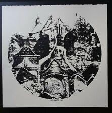 Gothic art Silkscreen print, art print,horror,punk,Serigraph,handmade,signed
