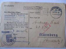 Alliierte Besetzung,Kontrollrat, Spruchkammer Nürnberg, Entnazifizierung (41580)