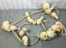 Baby ducks on a Rope Craft Project Baby Shower Decor
