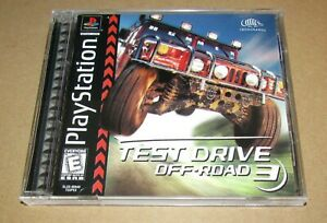 Test Drive Off-Road 3 for Playstation PS1 Complete Fast Shipping!