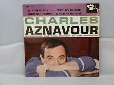 Charles Aznavour – Je M'Voyais Déjà                    Barclay – 70357