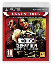 RED DEAD REDEMPTION GOTY EDITION PS3 VIDEOGIOCO PLAY STATION 3 GIOCO ITALIANO