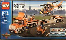 New Lego City Transportation Helicopter Transporter (7686) Retired
