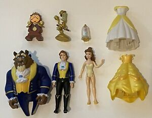 Disney Parks Beauty & The Beast Belle Deluxe Figurine Set