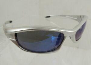 Tifosi Sunglasses Q2 T-F220 Lightweight Metallic Silver Frame, Impact Protection