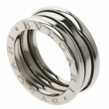BVLGARI   Ring B-zero1 S #51 K18 White Gold