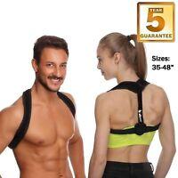 Posture Corrector for Women & Men, Relieves Upper Back & Shoulders Pain, Correct