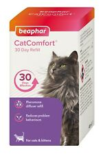 Beaphar Cat Comfort 30 Day Refill 48ml Reduces Feelings Of Anxiety In Cats