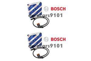 Mercedes S600 Set of 2 Bosch Rear ABS Wheel Speed Sensors 0986594592 2219057300