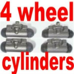 Set of 4 wheel Cylinders fits 1955-1960 & 1965-1967 Ford 1/2 ton Truck
