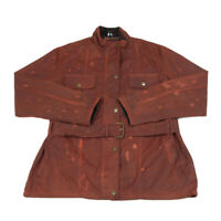 NEW FOREST Wax Jacket | Made in GB | Size 14 | Coat Rain Waterproof Cord Collar