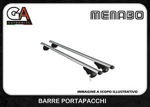 BARRE DA TETTO MENABO BRIO 120 Alluminio Portatutto Portapacchi