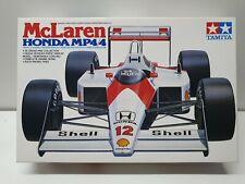 Ayrton Senna McLaren Honda Mp4/4 1/20 Tamiya Formula 1 F1 Model Kit Alain Prost
