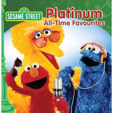 SESAME STREET Platinum All-Time Favourites CD BRAND NEW ABC For Kids