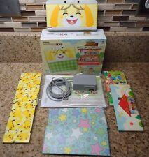 New Nintendo 3DS Animal Crossing Happy Home Designer Bundle CONSOLE + Faceplates