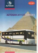 Autosan A1112T Ramzes bus (made in Poland) _2002 Prospekt / Brochure