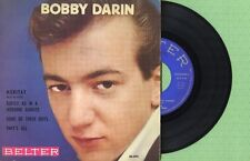 BOBBY DARIN / Moritat - Some Of These Days BELTER 50.293 Press Spain 1959 EP EX