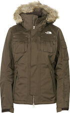 The North Face Baker Delux Womens Snowboard Ski Jacket Ladies Snow Coat Fur L