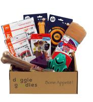 Doggie Goodies 🐾 Dog Treat Gift Box 🐶 Amazing Value Toys Chews Food Dogs