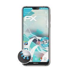 atFoliX 3x Folie für Nokia 7.1 Schutzfolie FX-ActiFleX Displayschutzfolie