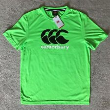 Mens, Green Gecko, Canterbury T-Shirt. Size Large. Brand New with Tags. E546987