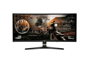 "LG 34UC79G-B 34"" WFHD IPS Curved Ultrawide Gaming Monitor (Used, Acceptable)"