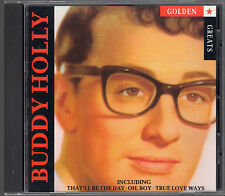 CD - Buddy Holly - Golden Greats - That'll Be the Day, Oh Boy, Listen to Me (50)