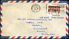 Canada 1984 Commercial Air Mail Cover To UK #C38573