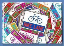 Bicycle *2X3 Fridge Magnet* Bike Riding Adventure Exercise Two Wheel Cyclist