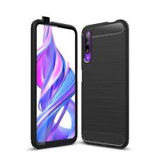 Huawei P smart Pro [2020] Handyhülle Silikon Case Schutzhülle Cover Carbonfarben